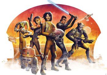 Starsi rebelianci Gwiezdnych wojen Fototapeta