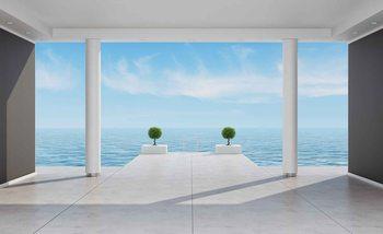 Widok na ocean Fototapeta