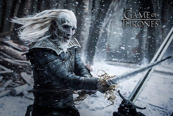 Game of Thrones  - White Walker - плакат (poster)