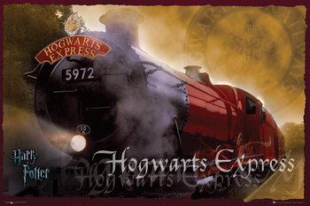 HARRY POTTER - hogwarts express - плакат (poster)