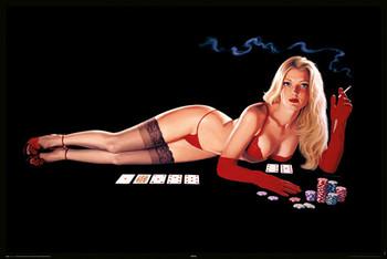 Hildebrandt - poker - плакат (poster)