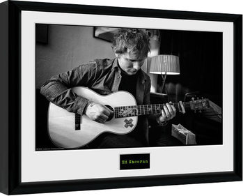 Ed Sheeran - Chord indrammet plakat