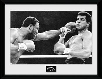 Muhammad Ali - Block indrammet plakat