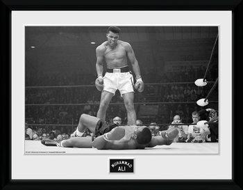 Muhammad Ali - Liston indrammet plakat