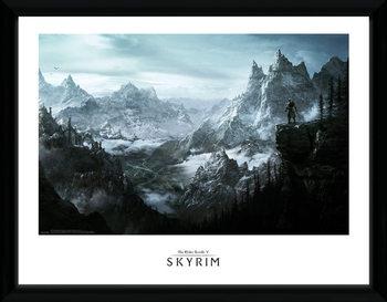 Skyrim - Vista indrammet plakat