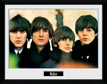 The Beatles - For Sale indrammet plakat