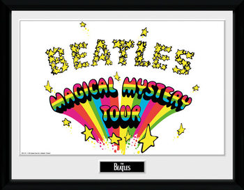 The Beatles - Magical Mystery indrammet plakat