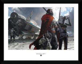Destiny - Guardians ingelijste poster met glas