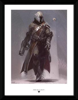 Destiny - Warlock ingelijste poster met glas