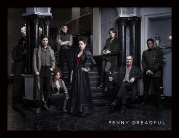 Penny Dreadful - Group ingelijste poster met glas