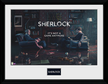 Sherlock - Rising Tide ingelijste poster met glas