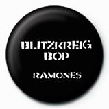 RAMONES - Blitzkreig Bop Insignă