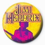 JIMI HENDRIX (GOLD) Insignă