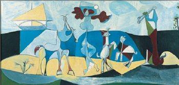 Joy of Life, 1946 Festmény reprodukció