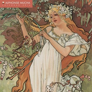 Kalendář 2017 Alfons Mucha