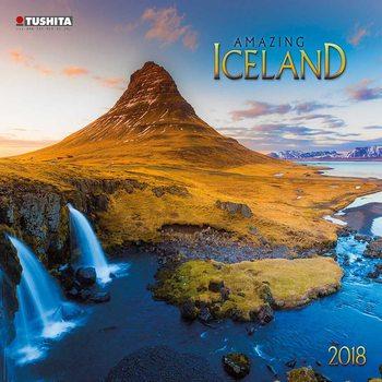 Kalendář 2018 Amazing Island