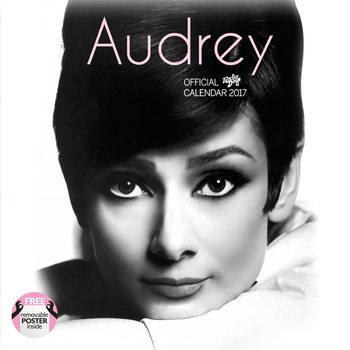 Kalendář 2017 Audrey Hepburn