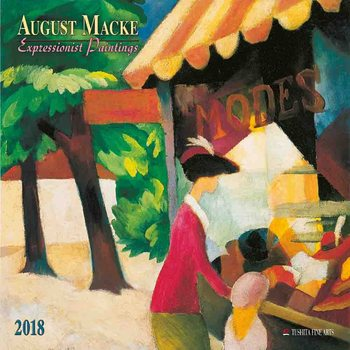Kalendár 2018 August Macke