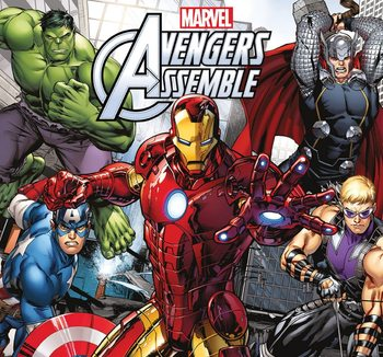 Kalendár 2017 Avengers: Pomstitelia