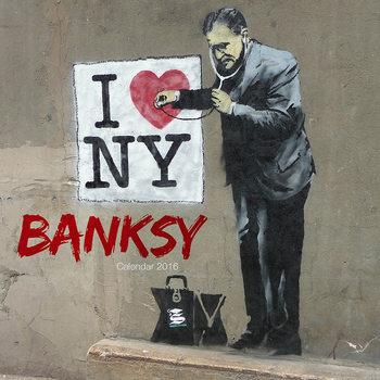 Kalendář 2017 Banksy Street Art