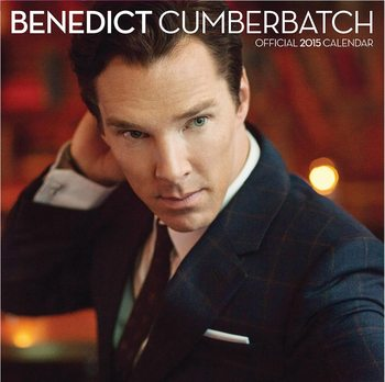 Kalendář 2017 Benedict Cumberbatch - Sherlock