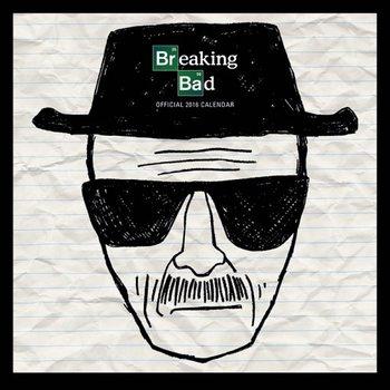 Kalendář 2017 Breaking Bad (Perníkový táta)