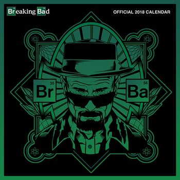 Kalendář 2018 Breaking Bad (Perníkový táta)