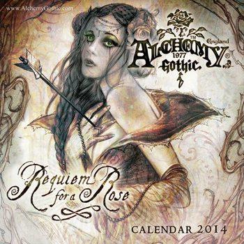 Kalendár 2017 Calendar 2014 - ALCHEMY