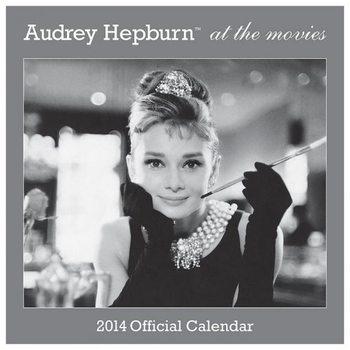 Kalendár 2017 Calendar 2014 - AUDREY HEPBURN