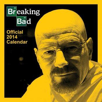 Kalendár 2017 Calendar 2014 - BREAKING BAD