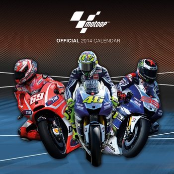 Kalendár 2017 Calendar 2014 - MOTO GP