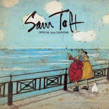 Kalendár 2017 Calendar 2014 - SAM TOFT