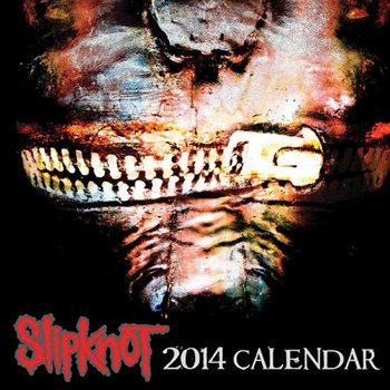 Kalendár 2017 Calendar 2014 - SLIPKNOT