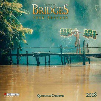 Kalendář 2018 Crossing Bridges