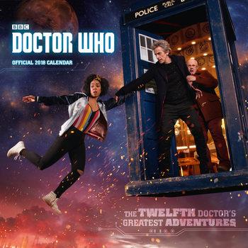 Kalendár 2018 Doctor Who