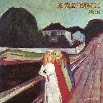 Kalendár 2018 Edvard Munch