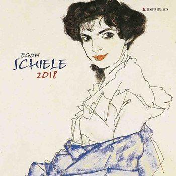 Kalendář 2018 Egon Schiele