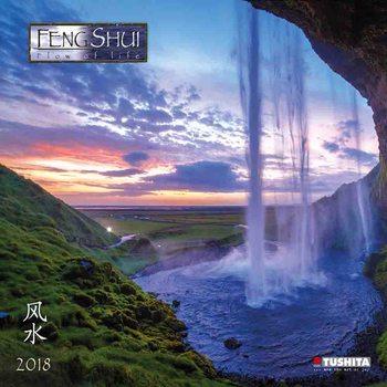 Kalendář 2018 Feng Shui Flow of Life