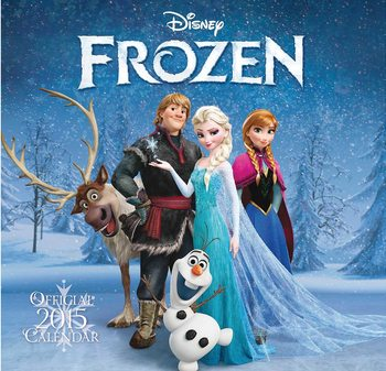 Kalendár 2017 Ľadové kráľovstvo