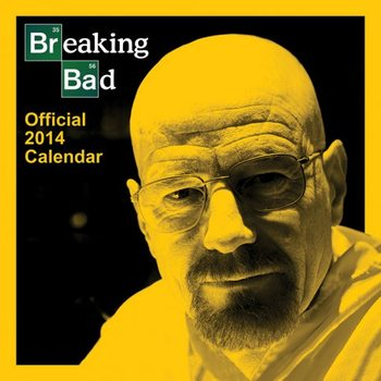 Kalendář 2017 Kalendář 2014 - BREAKING BAD