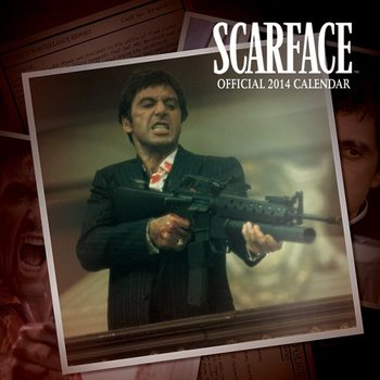Kalendář 2017 Kalendář 2014 - SCARFACE