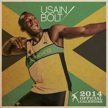 Kalendář 2017 Kalendář 2014 - USAIN BOLT