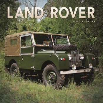 Kalendár 2017 Land Rover