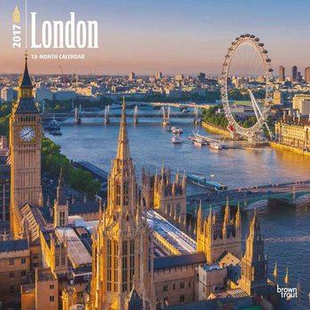 Kalendář 2017 London