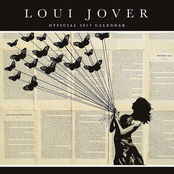Kalendár 2017 Loui Jover