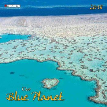 Kalendář 2018 Our blue Planet
