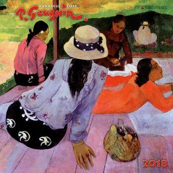 Kalendár 2018 Paul Gaugin - Paradise Lost