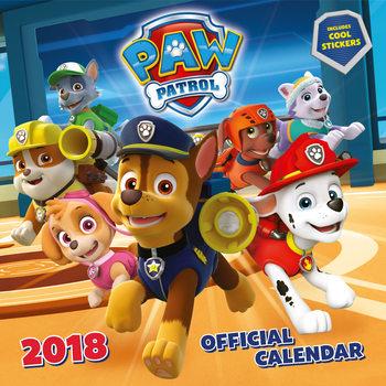 Kalendár 2018 Paw Patrol