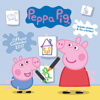 Kalendář 2017 Peppa Pig
