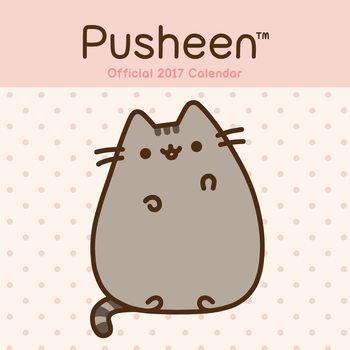 Kalendár 2017 Pusheen